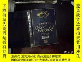 二手書博民逛書店concise罕見world atlas 2000Y180897