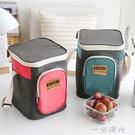 野餐戶外保溫包鋁箔加厚冷藏保冷飯盒袋家用上班車載保溫箱便當包 一米陽光