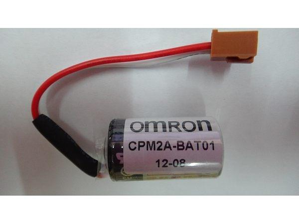 全館免運費【電池天地】鋰電池 OMRON 儀器用電池 CPM2A-BAT01 一次鋰電3.6V(含線頭)