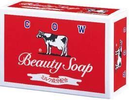 日本牛乳石鹼香皂(紅盒)100g