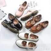日繫復古英倫小皮鞋洛麗塔鞋原宿森女圓頭鬆糕娃娃鞋淺口學生單鞋 糖糖日系森女屋