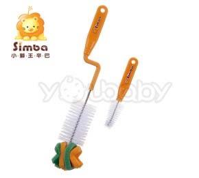 小獅王辛巴 Simba 旋轉式奶瓶刷/海綿奶瓶刷
