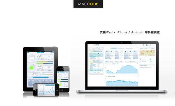 Netatmo Weather Station 氣象環境監測器 支援 iPhone / iPad / Android 免運費