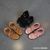 公主鞋新款童鞋女童涼鞋韓版兒童羅馬鞋寶寶軟底女孩小公主鞋子 童趣潮品