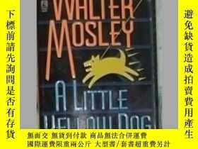 二手書博民逛書店英文原版罕見A Little Yellow Dog by Wal