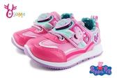 Peppa Pig 佩佩豬 運動鞋 中小童 電燈鞋 MIT K7580#桃紅◆OSOME奧森鞋業