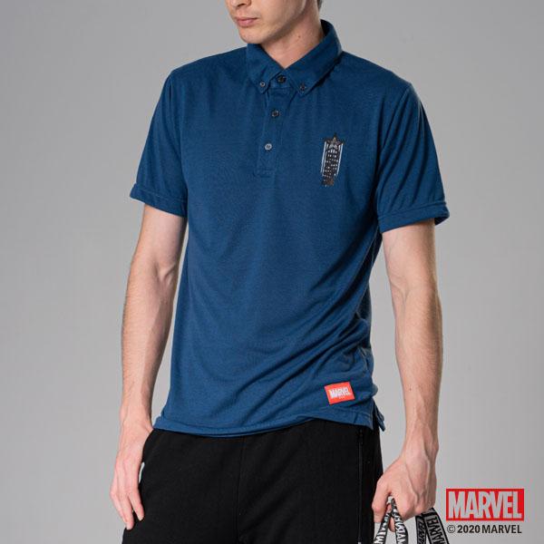 MARVEL漫威服飾 美國隊長設計 商務機能polo衫 商務襯衫 吸濕排汗材質 [M19121201]