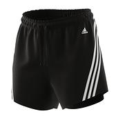 Adidas 3-STRIPES 女款 運動短褲 黑款 H57305 【KAORACER】