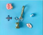 卡通可愛動物鑰匙扣女汽車鑰匙圈鍊創意包掛飾小車鎖鑰匙掛件禮品(快出)