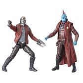 MARVEL漫威人物 星際異攻隊2 Star-Lord and Yondu 4.7吋模型人偶 (孩之寶)
