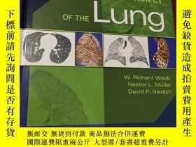 二手書博民逛書店High-Resolution罕見CT of the Lung