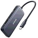 [2美國直購] Anker 5IN1 USB C集線器 4K USB C轉HDMI SD microSD卡讀卡器 灰