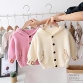 2019女童裝秋裝新款百搭款韓版嬰兒童針織開衫外套女寶寶洋氣毛衣