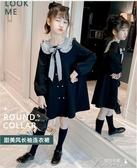 女童洋裝 女童連衣裙秋裝新款兒童洋氣公主裙女孩韓版中大童裙子童裝裙 快速出貨