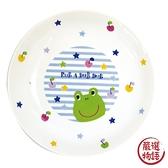 【日本製】【Rub a dub dub】輕巧瓷盤 青蛙圖案 SD-9178 - Rubadubdub
