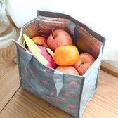 保溫袋 韓國飯盒袋保溫袋便當袋帶飯袋手拎袋帆布袋學生拎袋小號可愛保鮮