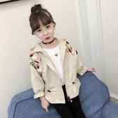韓版春秋款公主女孩春季上衣短款中大童春裝