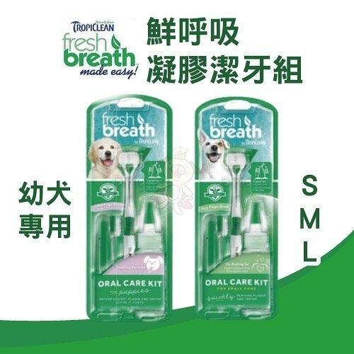 *WANG*鮮呼吸 Fresh breath 凝膠潔牙組 (幼犬 / S / M / L) 維護牙齦健康
