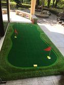 免費訂做標志PGM 室內高爾夫果嶺 推桿練習器 辦公室練習毯套裝 英雄聯盟igo
