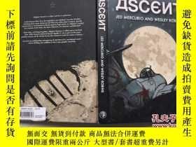 二手書博民逛書店Ascent罕見Ascent 精裝 漫畫 內頁2頁被撕一道口子Y