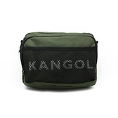 KANGOL LOGO網眼側背包 綠 6125170470
