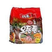 韓國不倒翁海鮮烏龍拉麵120Gx5包【愛買】