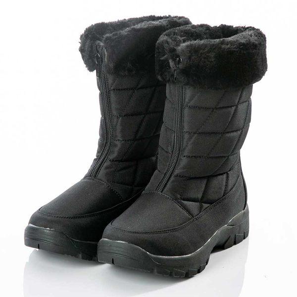 【PolarStar】女保暖雪鞋『黑』P18630 (冰爪 / 內厚鋪毛 /防滑鞋底) 雪靴.雪地靴.雪鞋.賞雪.滑雪