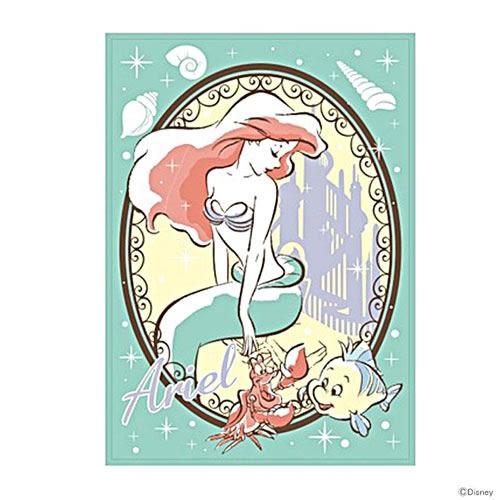 DISNEY 迪士尼公主手繪圖案兒童用單人毛毯M(小美人魚Kiss the girl)★funbox★丸真_RS65858