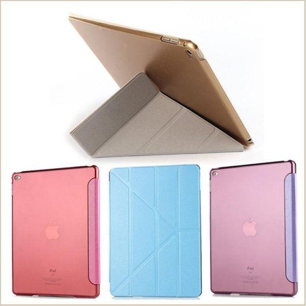 變形金剛 iPad Air Air2 iPad4 Mini2 平板皮套 Mni3 休眠喚醒 蠶絲紋 iPad Mini  iPad2 保護套 iPad3透明背殼