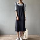 氣質吊帶洋裝連身裙韓版【83-16-87980-21】ibella 艾貝拉
