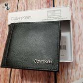 美國Calvin Klein 最新款 防刮材質 CK LOGO圖樣  男士短夾 零錢袋ID 卡夾  $1980