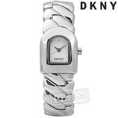 6折↘DKNY / NY4225 / 紐約時尚知性優雅手鍊式不鏽鋼手錶 銀白色 20mm