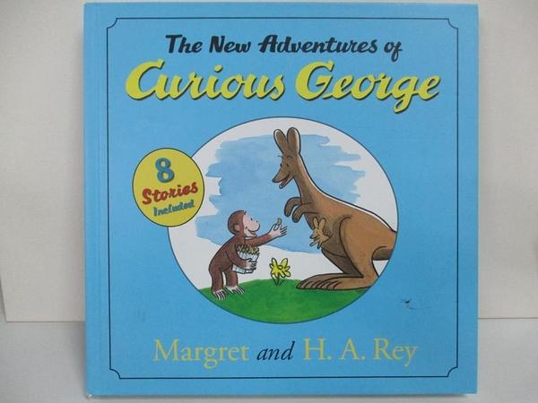 【書寶二手書T1/原文小說_D29】The New Adventures of Curious George_Rey, H. A./ Rey, Margret
