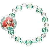asdfkitty*迪士尼小美人魚串珠彈性手鍊/手環-可當髮束-日本正版商品