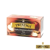 【TWININGS 唐寧】異國香蘋茶 Apple, Cinnamon & Raisin Tea 2gX25入(盒)