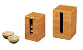 竹杯籠 茶杯收納盒 L 103×103×165 mm