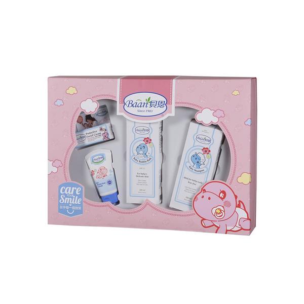 貝恩 嬰兒歡心禮盒 (4件組)