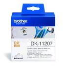 Brother DK-11207 白底黑字 原廠定型標籤帶 適用QL-1050/1060N/570/650TD/580N