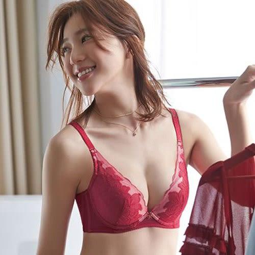 【蕾黛絲】愛樂芙V真水 D罩杯內衣(真愛緋紅)