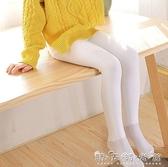 兒童連褲襪夏春中厚女童打底褲白色加絨加厚跳舞練功專用襪 雙十二全館免運