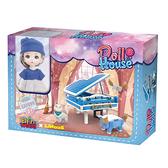 精靈世界娃娃屋系列 NO.7020 LINDA &練琴室【LINOOS】