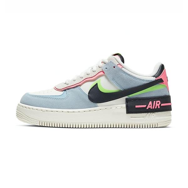 Nike Air Force 1 shadow 女 馬卡龍 休閒鞋 CU8591-101