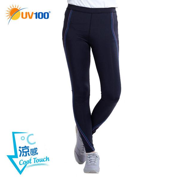 UV100 防曬 抗UV-涼感彈力韻律褲-修身爬線