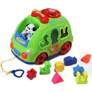 電動玩具 小狗樂園巴士