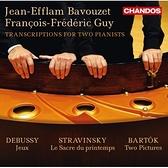 【停看聽音響唱片】【CD】雙鋼琴改編曲集:巴爾托克、德布西&史特拉文斯基