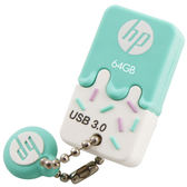 HP 64G USB3.0冰淇淋造型碟X778W【愛買】
