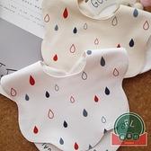 兒童純棉防水口水巾寶寶圍嘴嬰兒圍兜【聚可爱】
