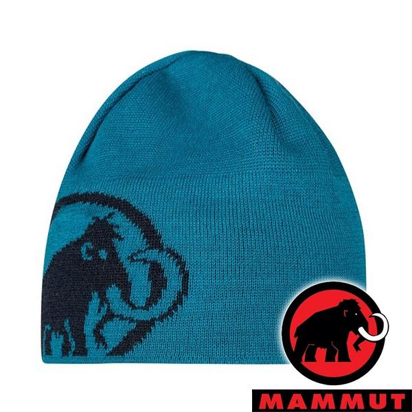 【MAMMUT 長毛象】Tweak毛帽『藍寶石/ 海洋藍』1191-01352 戶外 露營 登山 休閒 旅遊 毛帽 保暖 冬天