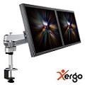 Xergo 雙延伸臂雙螢幕夾桌支撐架(終保)-EM43116
