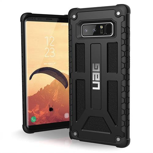 【美國代購-現貨】UAG 三星Note 8 軍用摔落測試手機殼 黑色